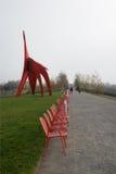 Parque olímpico de la escultura en Seattle Imágenes de archivo libres de regalías