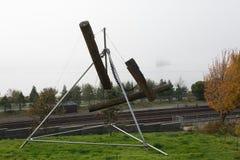 Parque olímpico de la escultura en Seattle Imagen de archivo libre de regalías