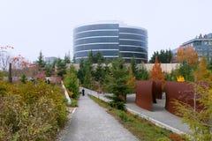 Parque olímpico de la escultura en Seattle Fotos de archivo