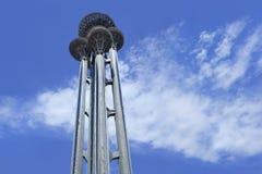 Parque olímpico de la torre de observación bajo construcción, Pekín, China Imagenes de archivo