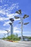 Parque olímpico de la torre de observación bajo construcción, Pekín, China Imagen de archivo libre de regalías