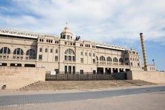 Parque olímpico en Barcelona Imágenes de archivo libres de regalías