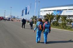 Parque olímpico en Sochi Fotos de archivo