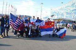 Parque olímpico en Sochi Imagen de archivo libre de regalías