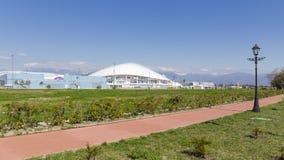 Parque olímpico moderno en Sochi imagen de archivo libre de regalías