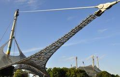 Parque olímpico Munich - skyline Fotos de Stock Royalty Free