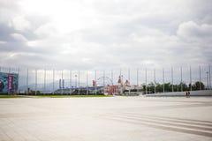 Parque olímpico Sochi de Rússia foto de stock royalty free