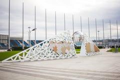 Parque olímpico Sochi de Rússia fotos de stock royalty free