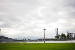Parque olímpico Sochi de Rússia imagem de stock royalty free