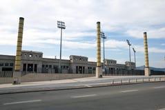 Parque olímpico en Barcelona Fotos de archivo libres de regalías