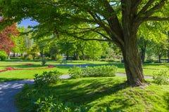 Parque público imagen de archivo libre de regalías