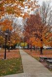 Parque público Fotografía de archivo