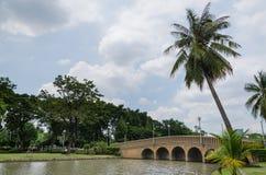 Parque público de la ciudad Fotos de archivo