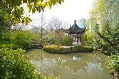 Parque público de Sun Yat-sen em Vancôver Canadá fotos de stock royalty free