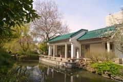Parque público de Sun Yat-sen en Vancouver Canadá Imagen de archivo libre de regalías