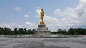 Parque público del área de la estatua del monje imágenes de archivo libres de regalías