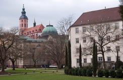 Parque público em Baden-Baden Foto de Stock Royalty Free