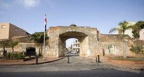 Parque patriótico com estátua Santo Domingo Foto de Stock