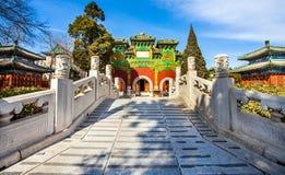 Parque Pekín de Beihai Foto de archivo libre de regalías