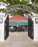 Parque pequeña Havana Miami del dominó Imagen de archivo libre de regalías