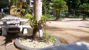 Parque pequeno Imagem de Stock