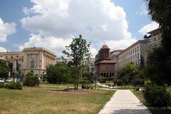 Parque perto da plaza da volta Foto de Stock