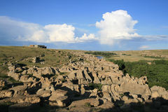 Parque provincial da Escrita-Em-Pedra Foto de Stock Royalty Free