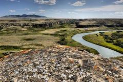 Parque provincial da Escrita-Em-Pedra Imagens de Stock Royalty Free
