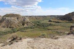 Parque provincial del dinosaurio Fotografía de archivo
