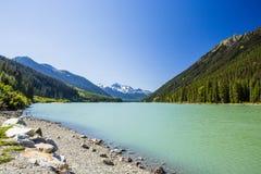 Parque provincial del lago Duffey, lago Duffey, A.C., Canadá imágenes de archivo libres de regalías