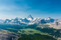 Parque provincial do assiniboine da montagem foto de stock royalty free