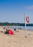 Parque provincial dos bancos de areia em Ontário Fotos de Stock