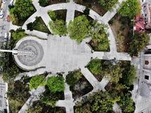 Parque Puebla del cielo imagen de archivo