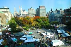 Parque quadrado New York da união Fotografia de Stock