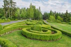Parque, quadrado Projeto da paisagem Foto de Stock Royalty Free