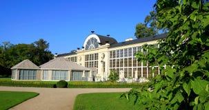 """Parque real de Lazienki en Varsovia, Polonia - el otoño colorea nuevo pabellón del naranjal del †"""" metrajes"""