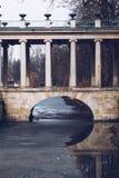 Parque real de los baños en Varsovia en Polonia imagenes de archivo