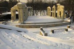 Parque real de Varsóvia-Lazienki imagens de stock