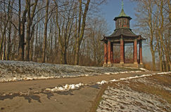 Parque real de Wilanow Fotografía de archivo