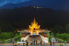 Parque real Rajapruek, Chiangmai Imagem de Stock Royalty Free