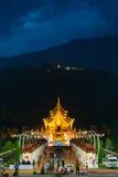 Parque real Rajapruek, Chiangmai, Tailândia Fotografia de Stock Royalty Free