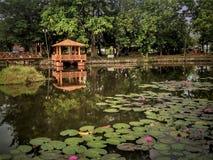 Parque recreativo de Tasik Melati en Kangar, Perlis, Malasia fotografía de archivo