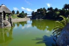 Parque Rodo湖 库存照片