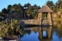 Parque Rodo, Montevideo. Canteras del Parque Rodo, Montevideo, Uruguay Royalty Free Stock Images