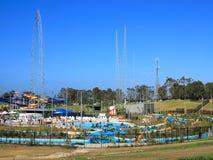 Parque salvaje mojado del agua de n abierto imagenes de archivo