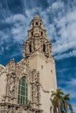 Parque San Diego del balboa de la torre de California Fotografía de archivo
