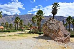 Parque Santo of Yungay, in Peru Stock Image