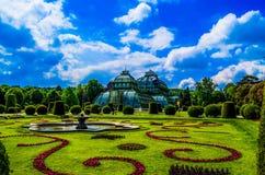 Parque Schönbrunn de Wien Foto de Stock