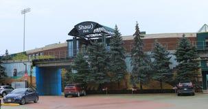 Parque Shaw en Winnipeg, Canadá 4K almacen de video