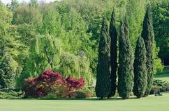 Parque SigurtÃ, sul Mincio Itália do valeggio imagens de stock royalty free